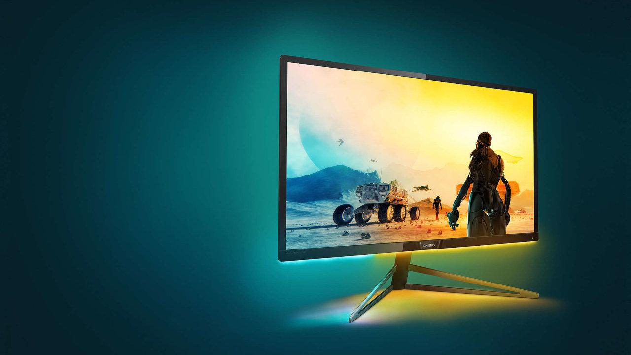 Nový monitor Philips Momentum 326 sází na obří obraz a vysoký jas.