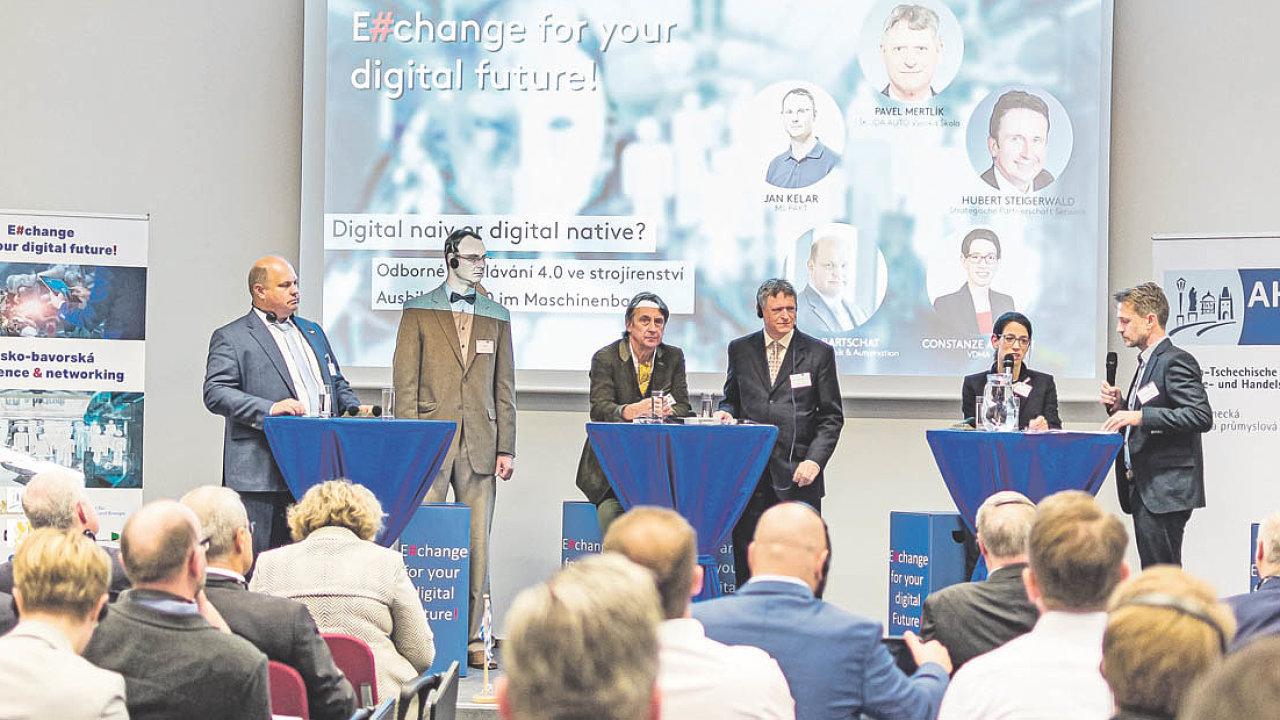 Česko-bavorská konference E#change for your digital future.