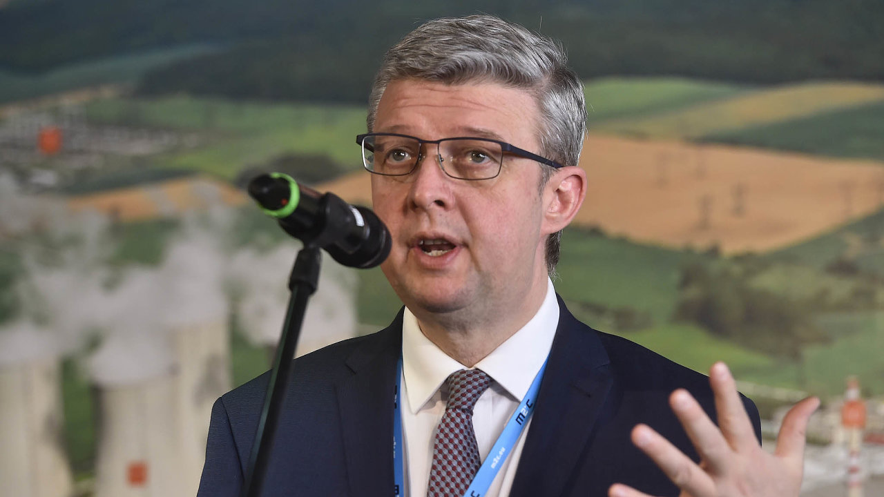 Vicepremiér Karel Havlíček.