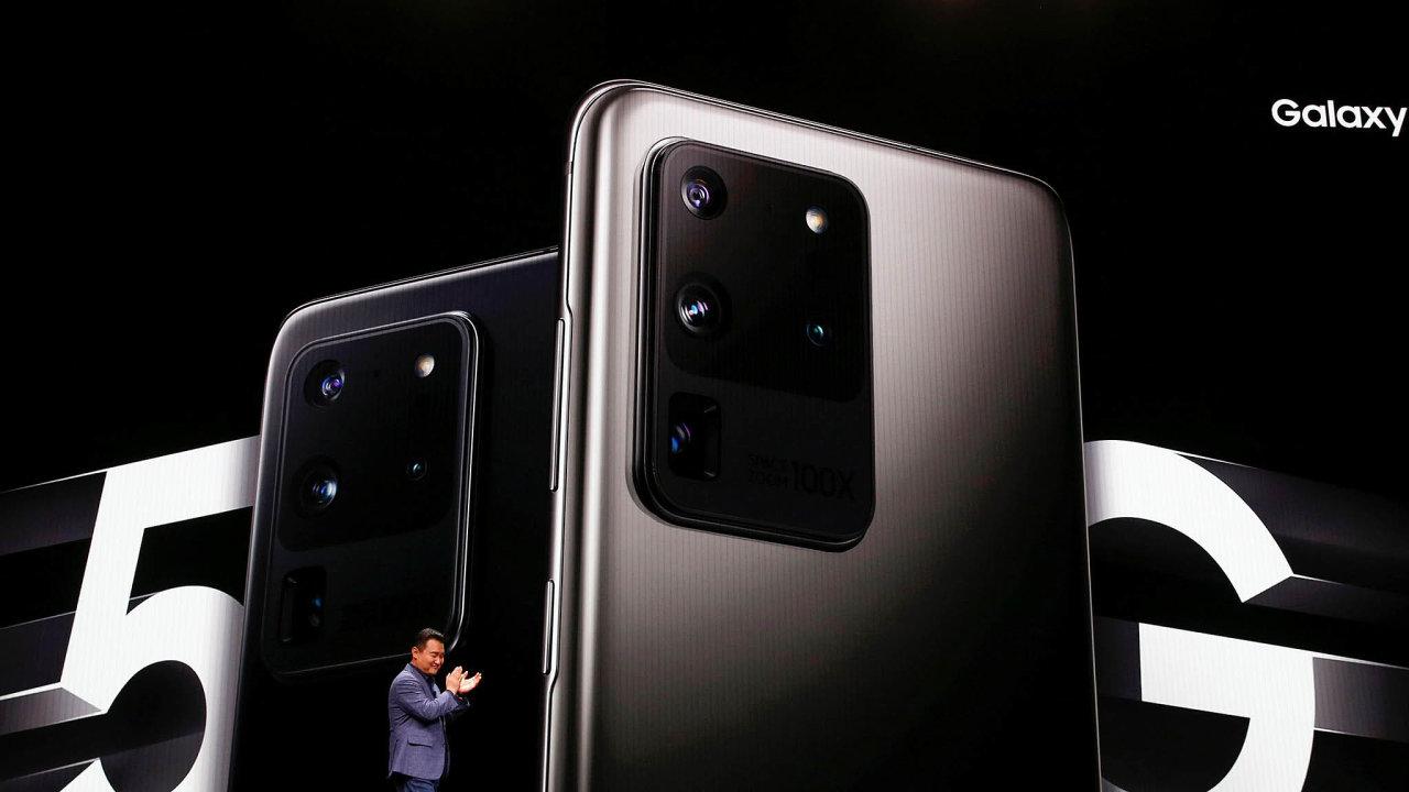 Únorová prezentace nových modelů Samsungu vSan Francisku potvrdila, že jedním zmobilních trendů tohoto roku budou rychlé sítě 5G.