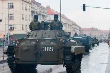 Dosluhující bojová vozidla: Novými stroji se armáda chystá nahradit zastaralá vozidla BVP-2. Jejich konstrukce vznikla v Sovětském svazu v 70. letech minulého století.