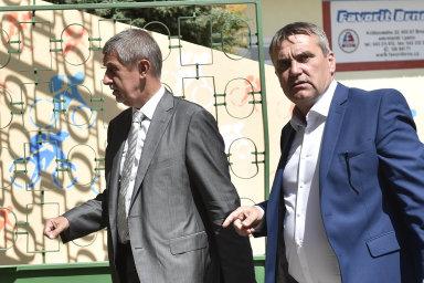 Tehdy to ještě klapalo.Andrej Babiš se v květnu 2018 přijel podívat na velodrom v areálu brněnského výstaviště. Tehdejší primátor Brna Petr Vokřál ho provázel.