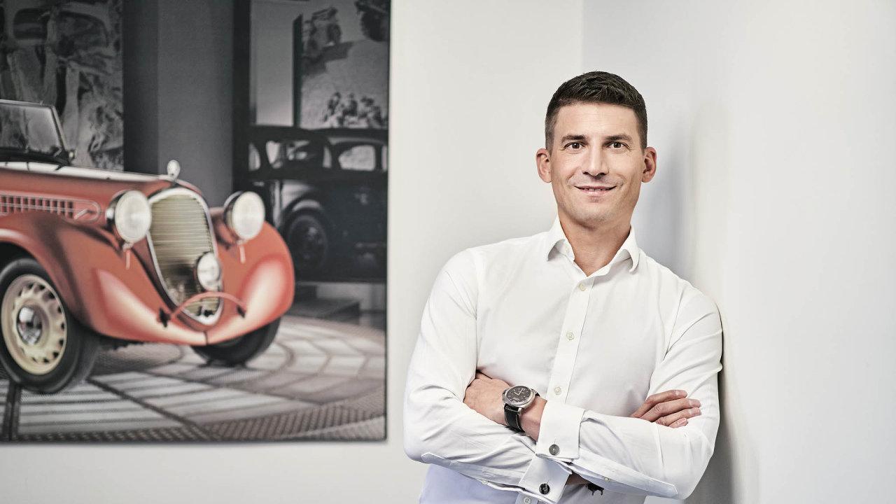 Michal Kadera, vedoucí vnějších vztahů, Škoda Auto