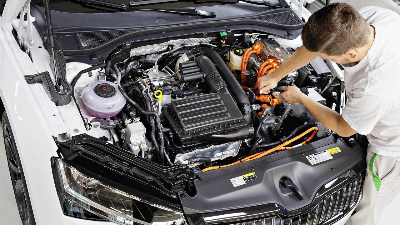 Automobilka Škoda Auto od 27. září zcela zastaví na celý týden výrobu ve všech třech svých závodech v ČR.