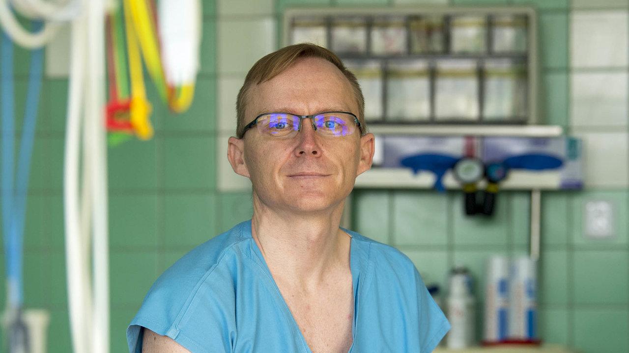 Vedoucí lékař postcovid centra v Hradci Králové Michal Kopecký