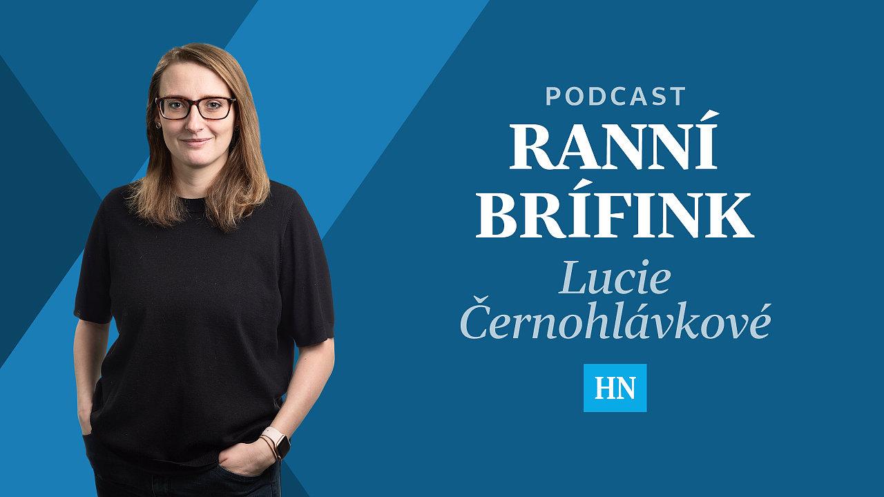 Ranní brífink Lucie Černohlávkové
