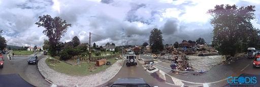 Záplavy v severních Čechách