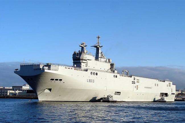 Франция считает неподходящими условия для поставки «Мистраля» РФ
