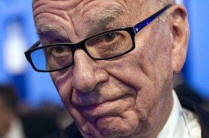 Mediální magnát vlastnící News Corp Rupert Murdoch