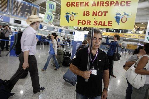 Řecko,protesty