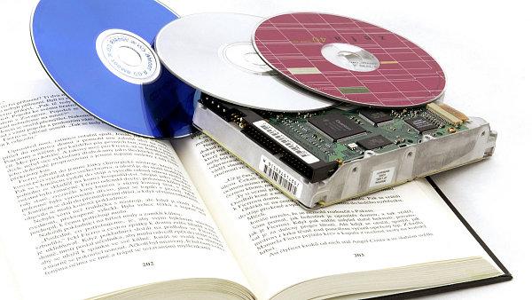 CD a harddisk.