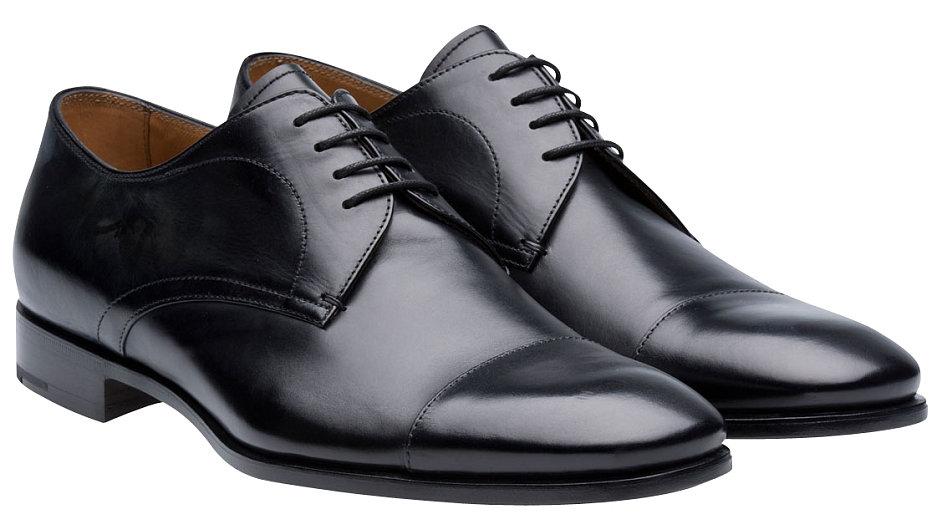 Pohodlné a elegantní boty Prada