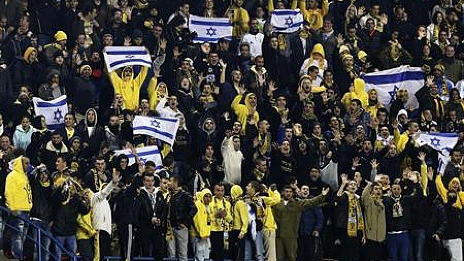 Fanoušci fotbalového klubu Bejtar Jeruzalém