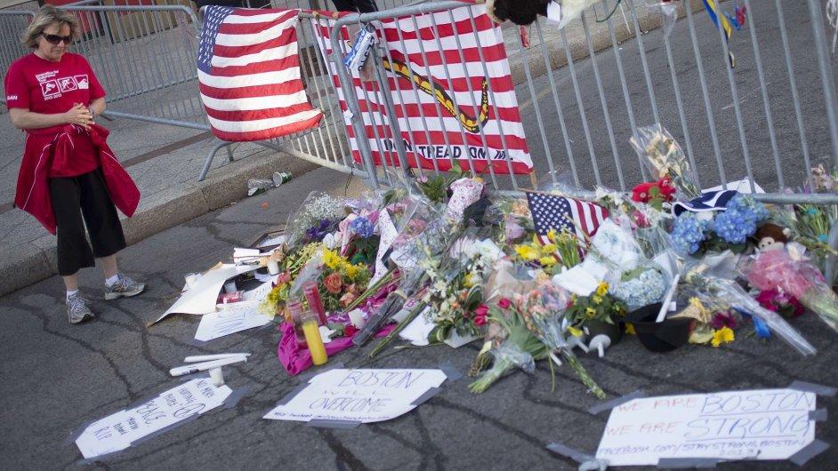 Boston po útocích.
