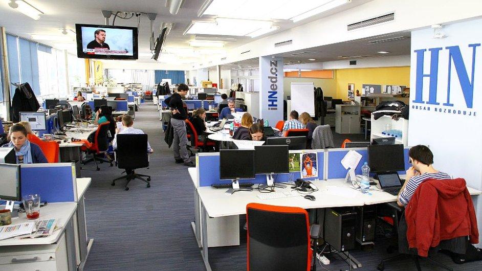 Newsroom Hospodářských novin