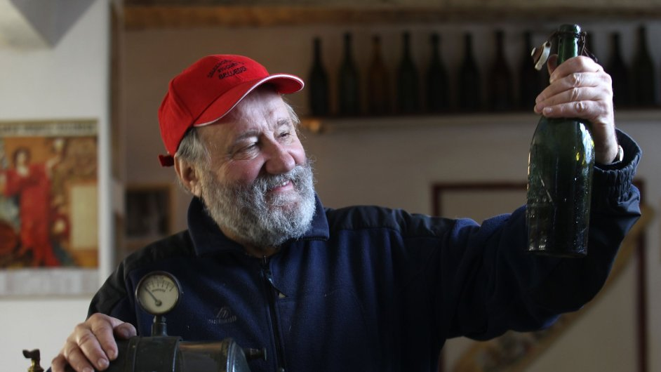 František Strnad, majitel Pivovaru Belvedér v Železné Rudě