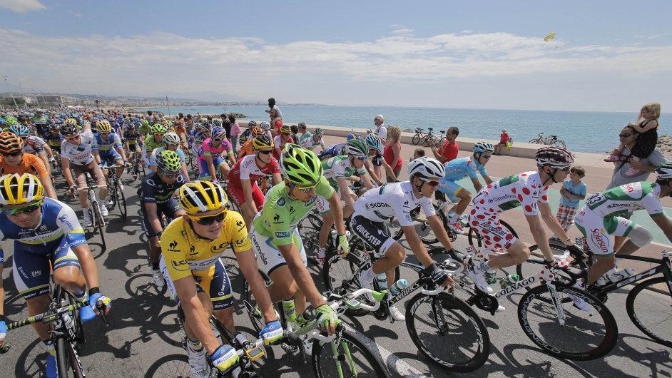 Peloton na Tour de France.