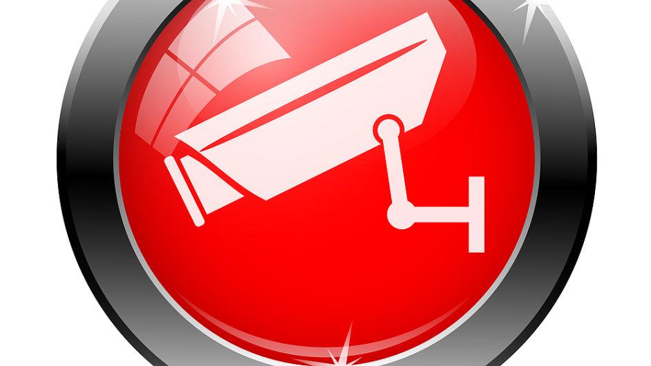 Kamerové systémy, značka, monitoring (ilustrační foto).