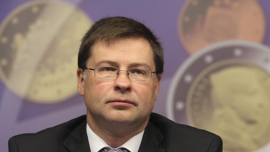 Lotyšský premiér Valdis Dombrovskis podal demisi.