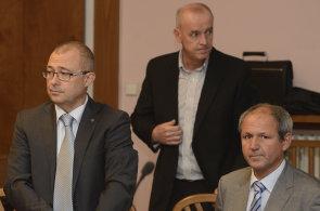 Obžalovaní v kauze údajné korupce při nákupu vozů Tatra - exministr obrany Martin Barták (vlevo) a zbrojař Michal Smrž