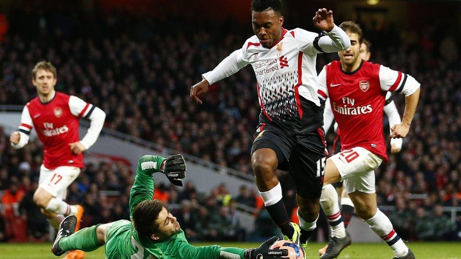 Střelci Liverpoolu tentokrát narazili