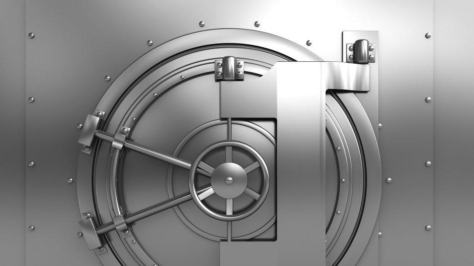 Ilustrační foto - Bankovní trezor