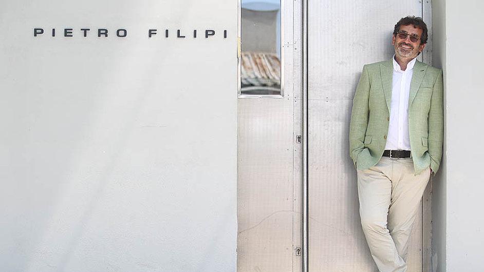 Petr Hendrych, zakladatel módní značky pietro filipi