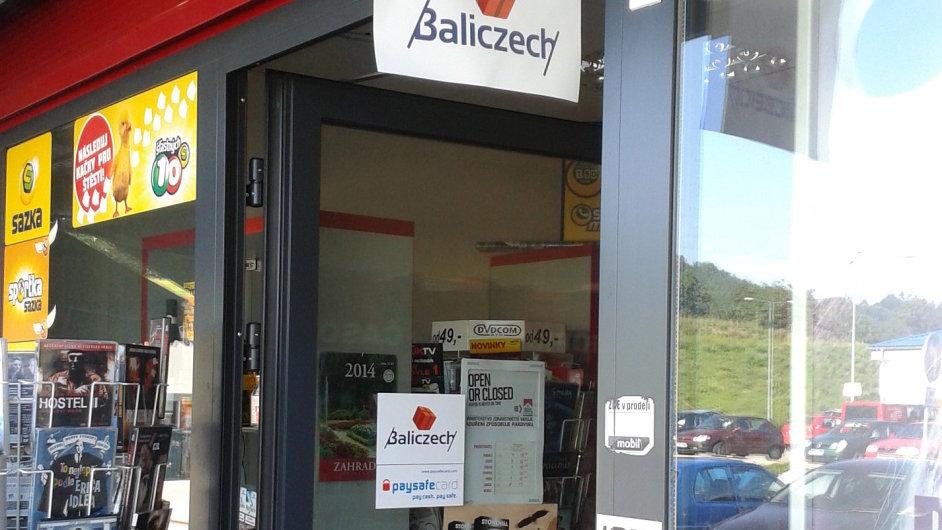 Zboží z e-shopu si zákazník vyzvedne v prodejně s označením Baliczech.