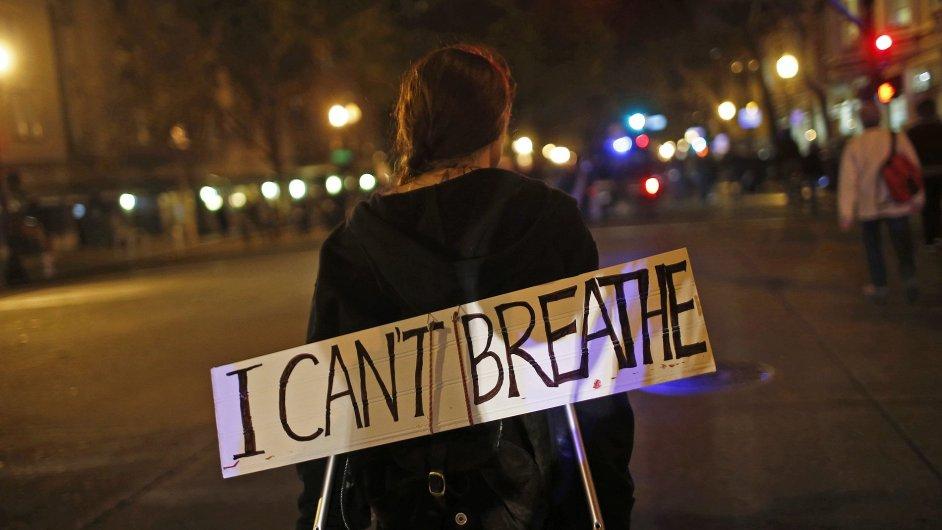Proti verdiktu poroty se protestovalo i v Kalifornii.