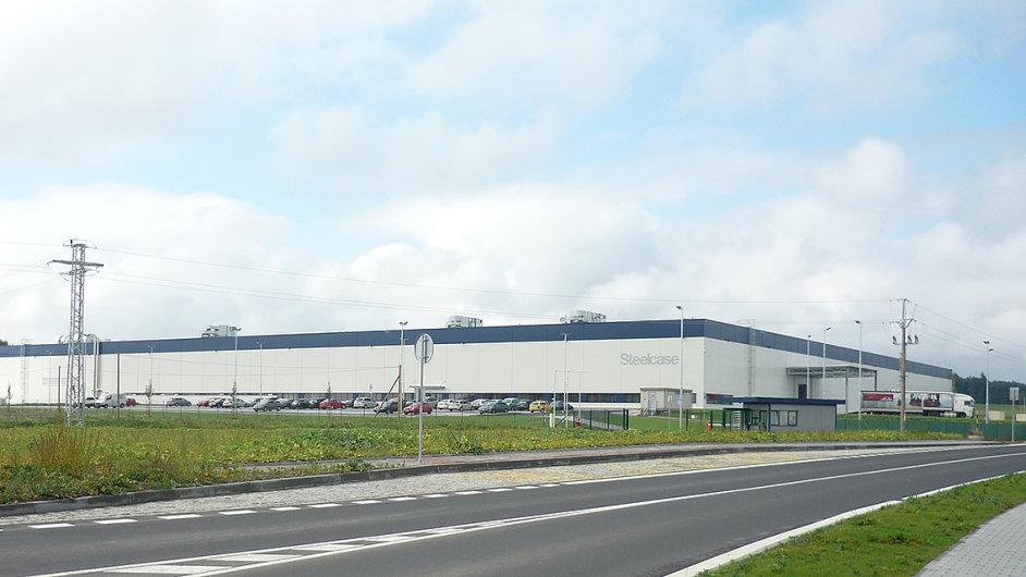 Nová výrobna společnosti Steelcase v Česku