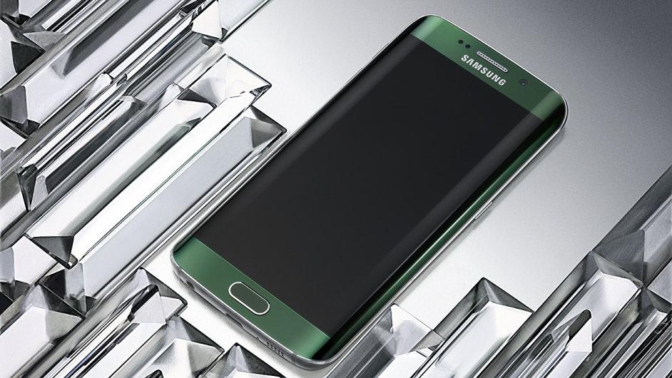Galaxy S6 edge v zelené barvě