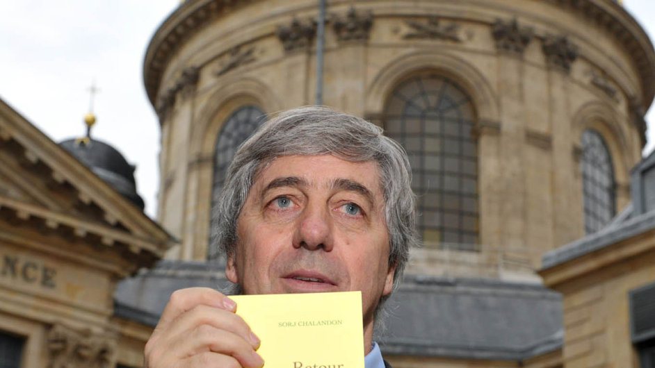 Z nových spisovatelů Velký knižní čtvrtek uvádí Francouze Sorje Chalandona.