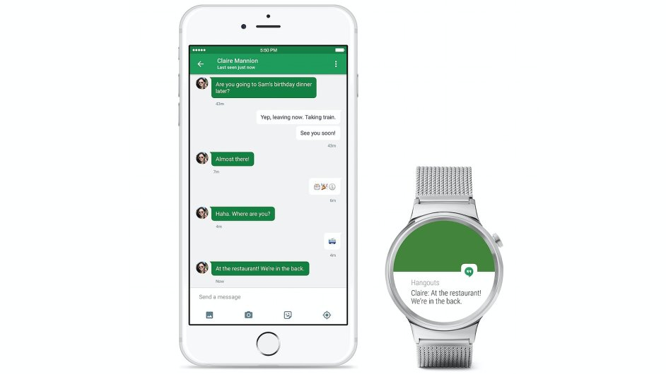 Android Wear na iOS