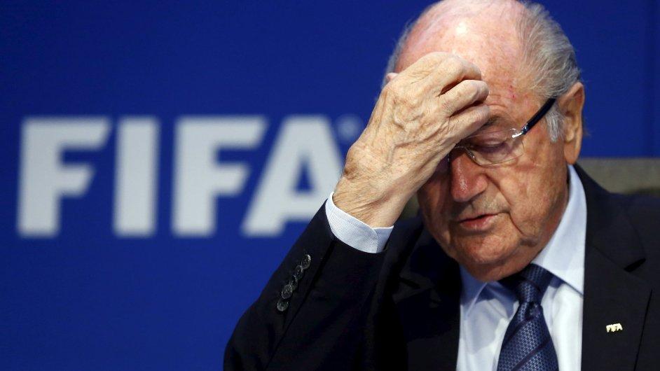 Někdejší prezident FIFA Sepp Blatter