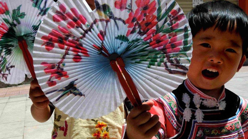 Čínský jüan na domácím trhu vzrostl - Ilustrační foto.