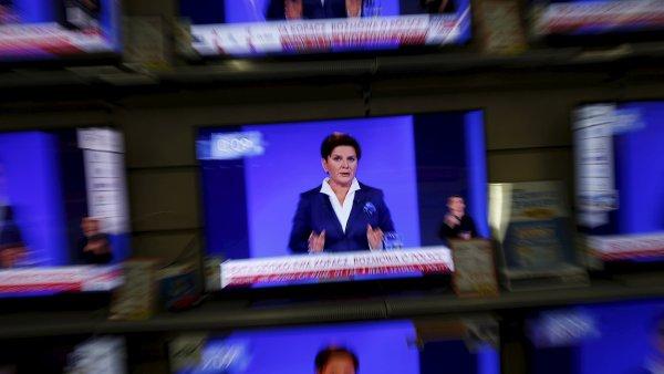 Novela mediálního zákona schválená i polskou premiérkou Szydlovou se nelíbí Evropské komisi - Ilustrační foto.