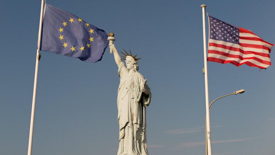 EU USA Evropská unie Spojené státy americké
