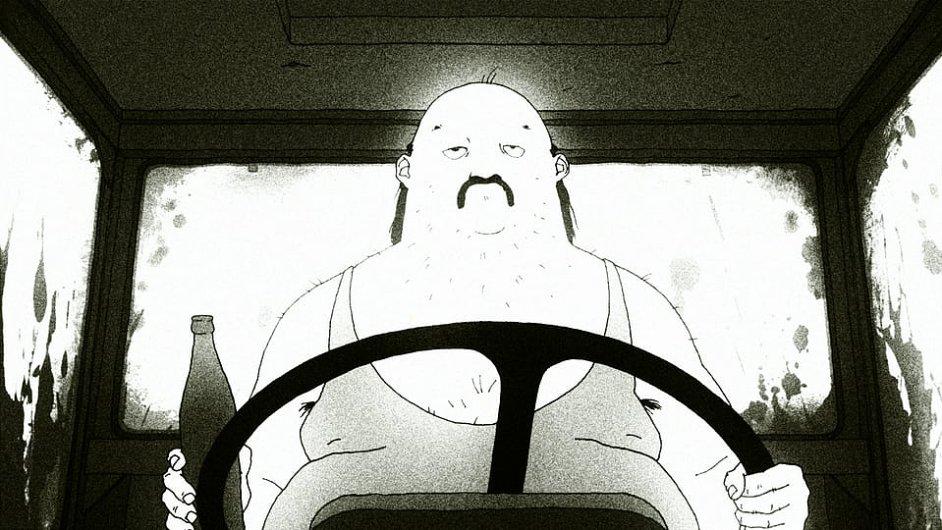 Snímek z filmu Happy End animátora Jana Sasky.