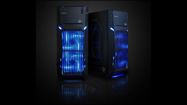 Počítač Alza Gamebox Neo+ ve skříni Zalman Z1 Neo