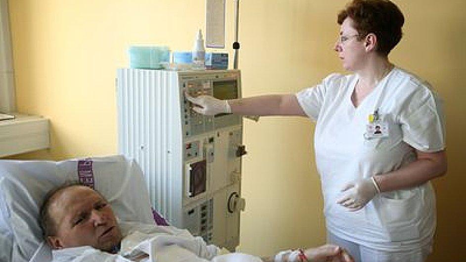 Lékařka a pacient