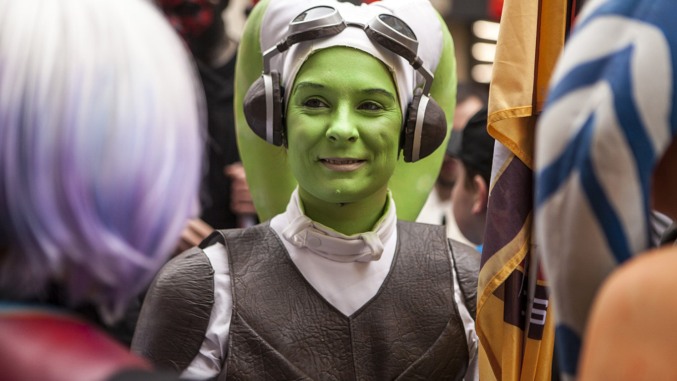 Pochod fanoušků Star Wars