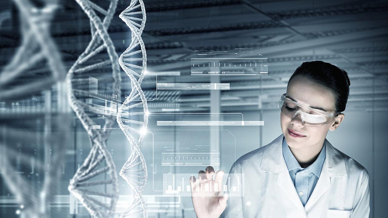 DNA, laboratoř