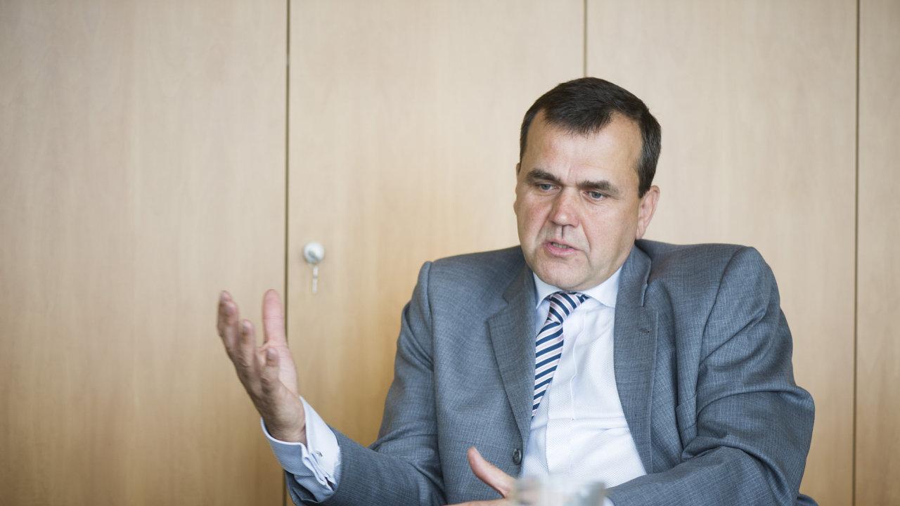 Šéf Řízení letového provozu Jan Klas