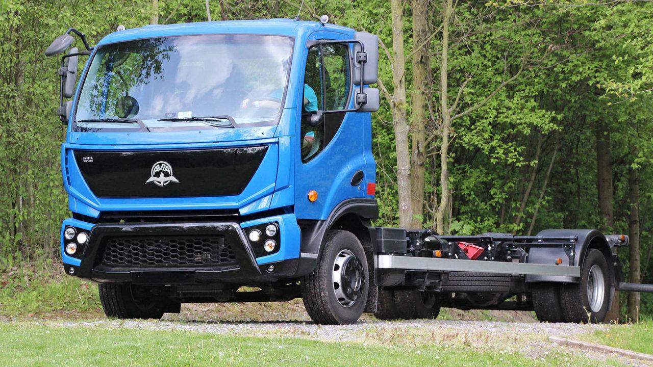 Obnovení výroby. Avia vzáří letošního roku představila inovovaný model Initia. Vychází zvozu, který se vyráběl ještě před ukončením výroby vroce 2013.