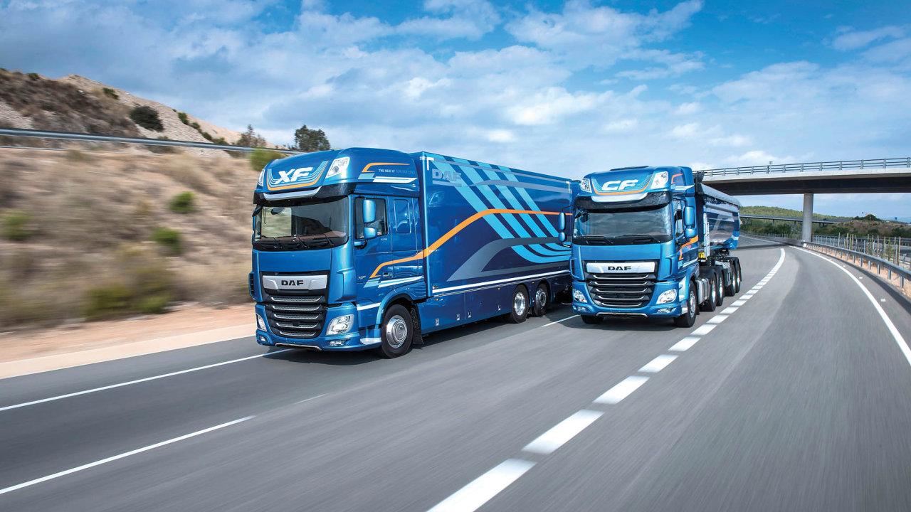 Nejlepšími nákladními vozy roku se staly nové modely DAF CF a XF