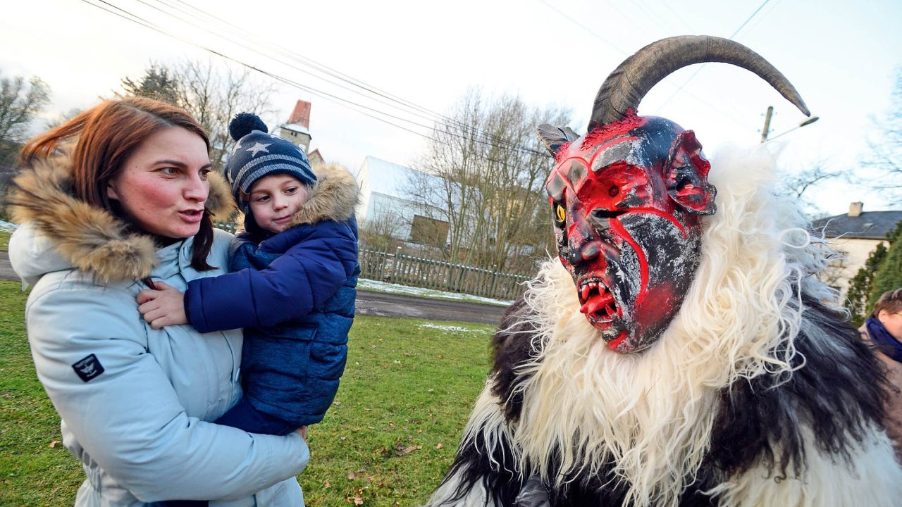 Vyslanec pekel přišel i do Milhostova.