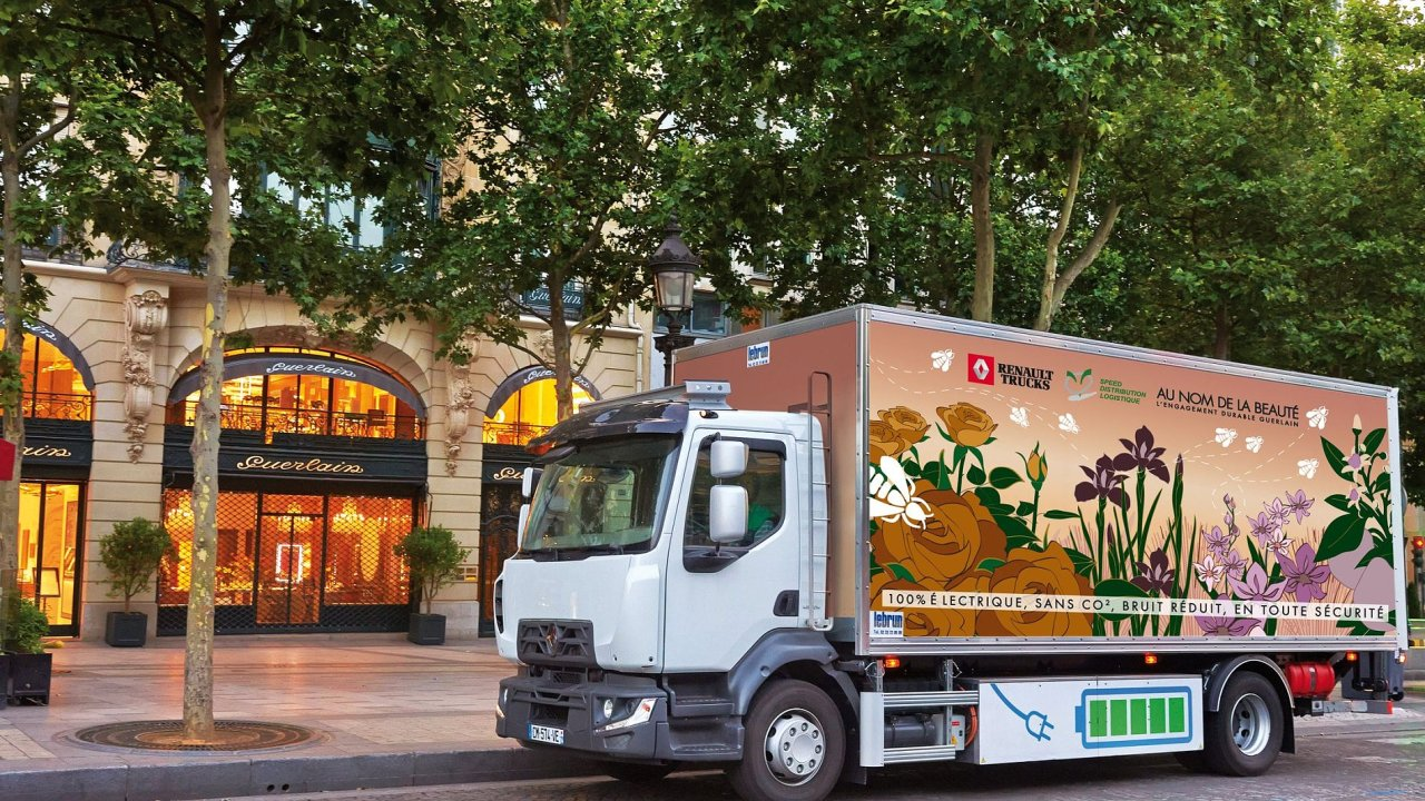 Renault Trucks D Electric Guerlain