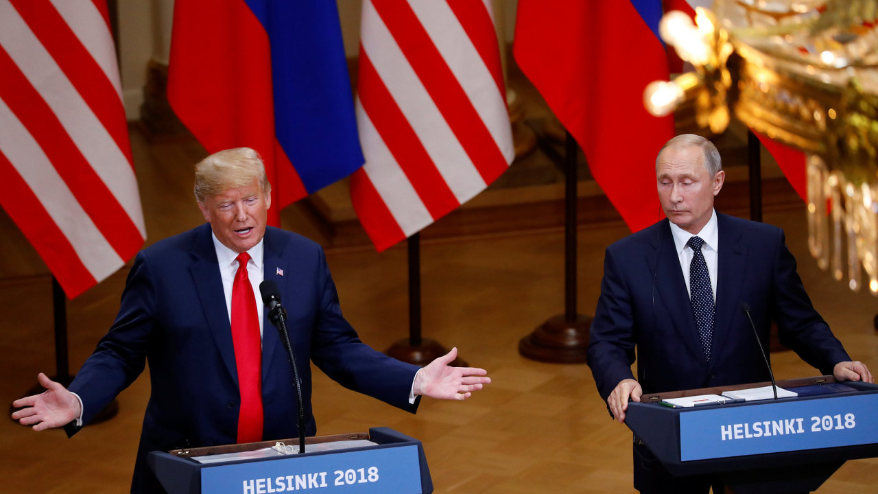 Trump Putin Helsinky