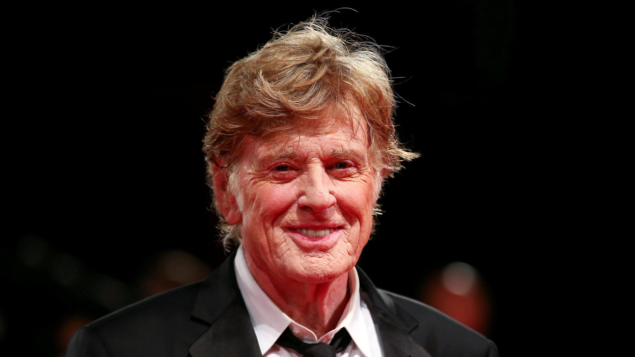 Herec Robert Redford.