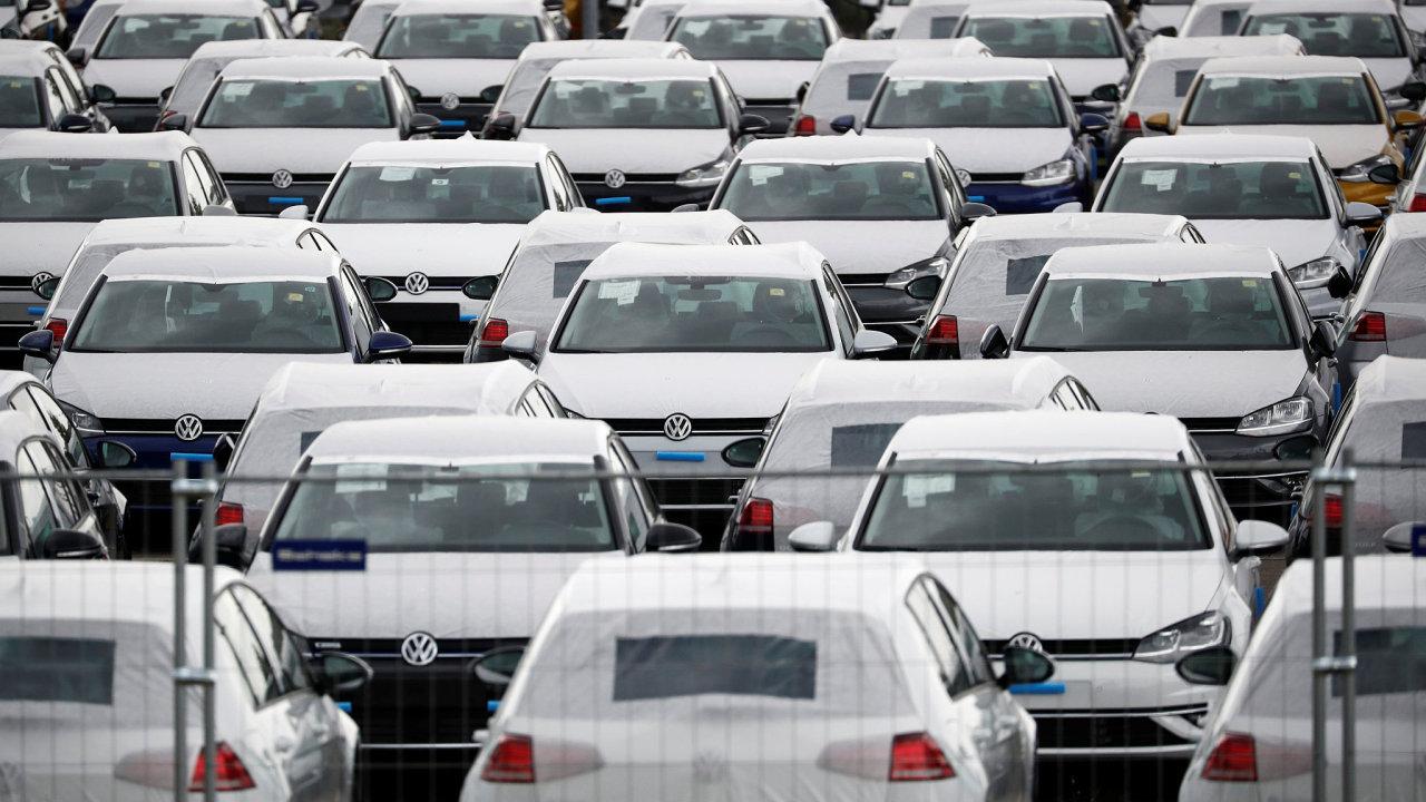 Nové vozy automobilky Volkswagen - Ilustrační foto.